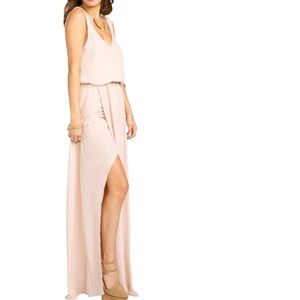 Show Me Your Mumu Kendall Soft V-Back Gown L